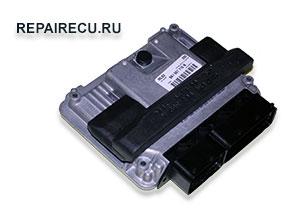Ремонт блока управления двигателем Audi a4 MED17.5.2